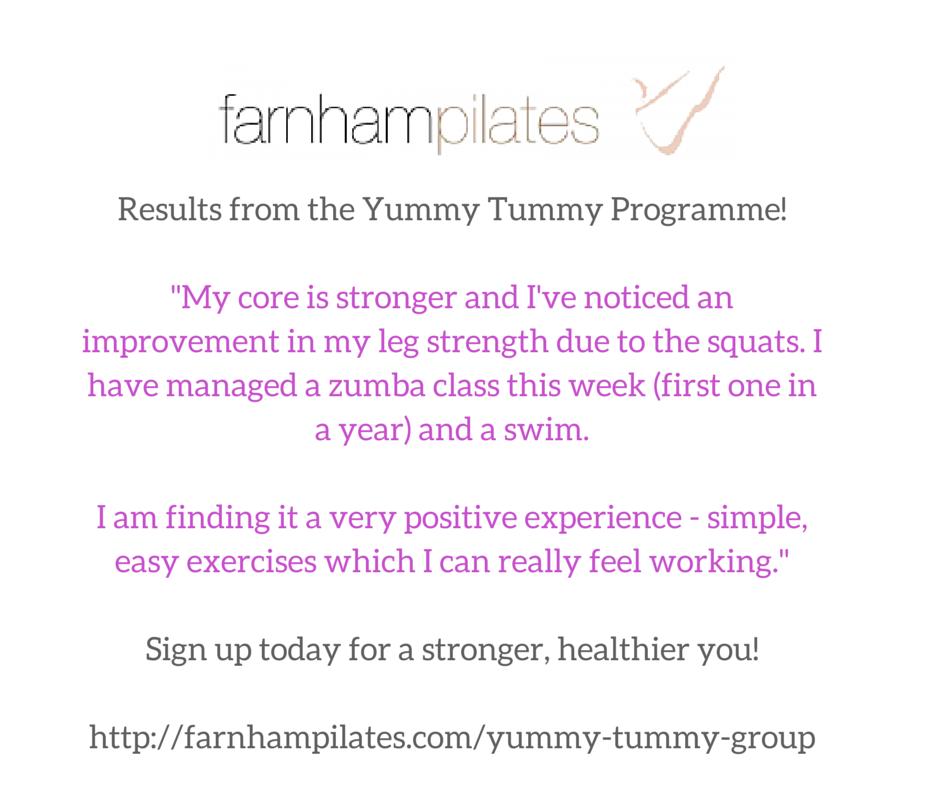 Yummy Tummy Programme