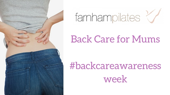 back care for mums