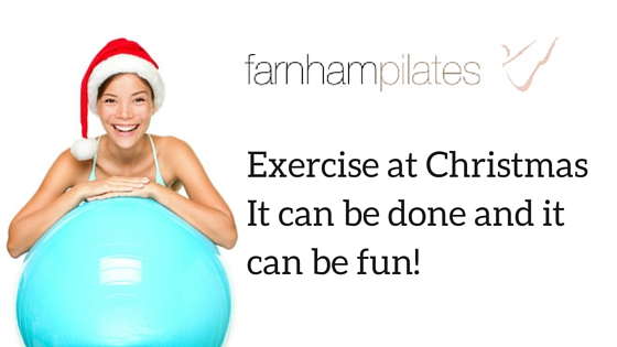 Exercise at Christmas