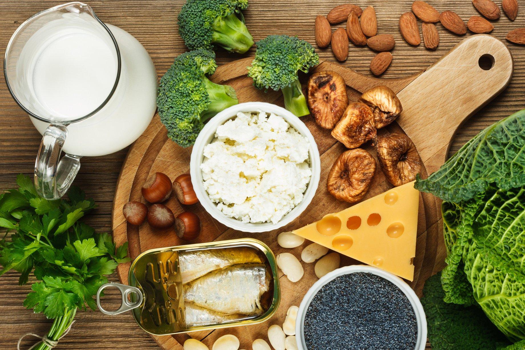 Best Foods for strong Bones from Farnham Pilates