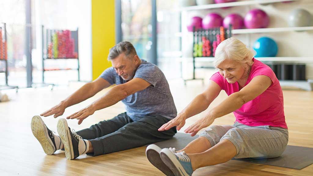 Pilates exercises for improved bone density