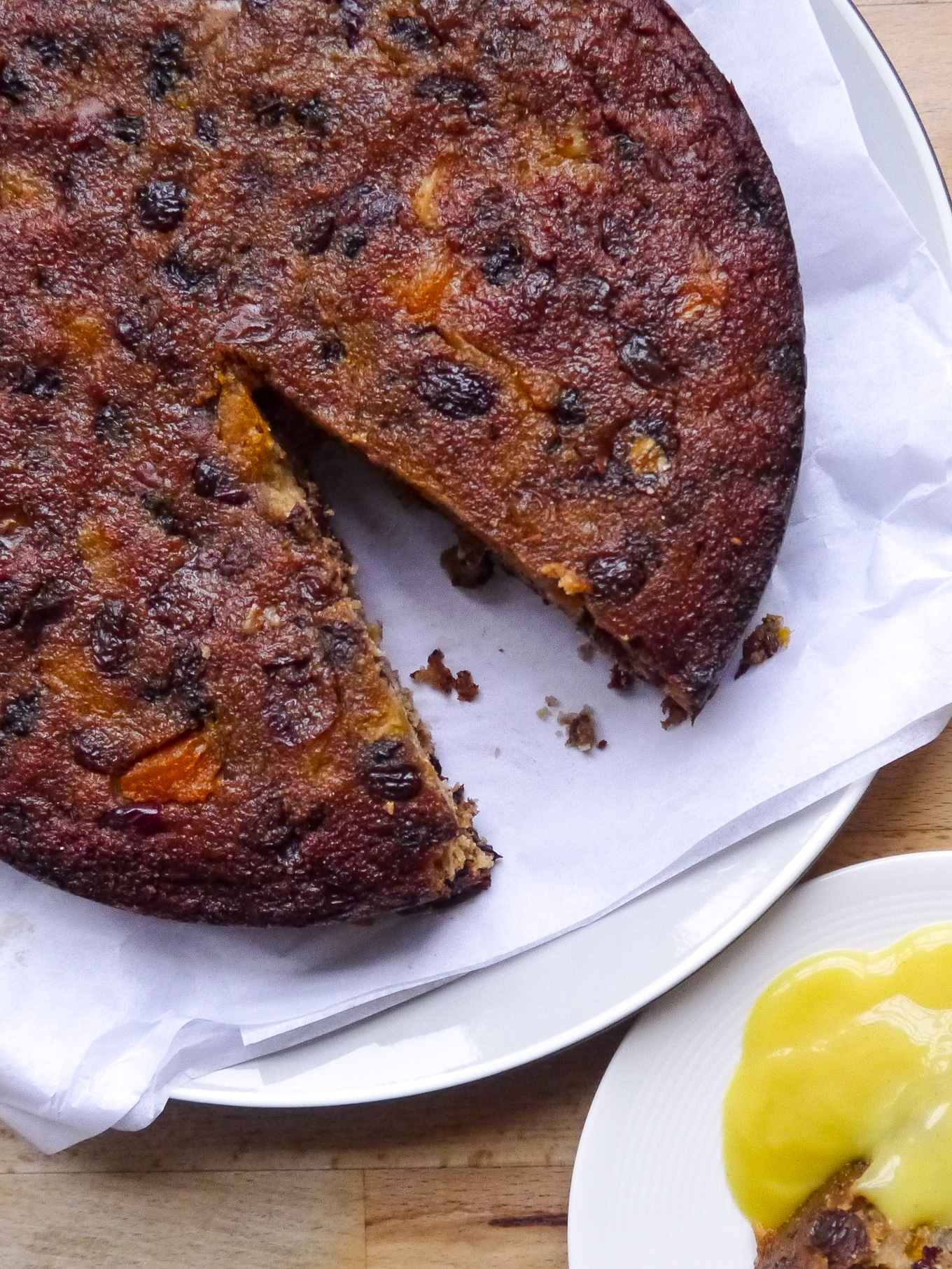 This week's recipe – a healthy Christmas cake
